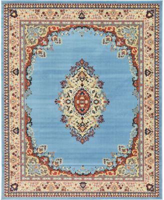 Birsu Bir1 Light Blue 8' x 10' Area Rug