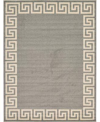 Anzu Anz2 Gray 9' x 12' Area Rug