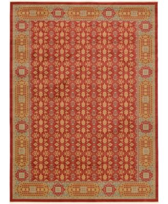 Wilder Wld7 Red 13' x 18' Area Rug