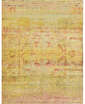 Malin Mal8 Yellow 9' x 12' Area Rug