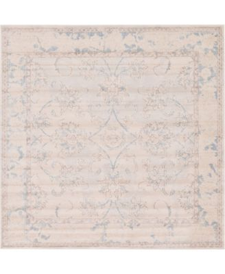 Caan Can6 Beige 8' x 8' Square Area Rug