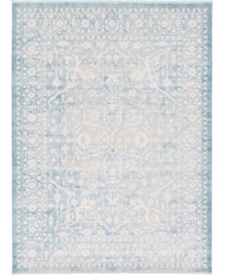 Norston Nor1 Blue 10' x 13' Area Rug