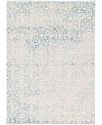 Norston Nor5 Light Blue 9' x 12' Area Rug