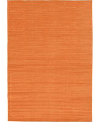 Axbridge Axb3 Orange 6' x 9' Area Rug