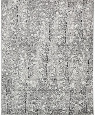 Politan Pol2 Gray 8' x 10' Area Rug