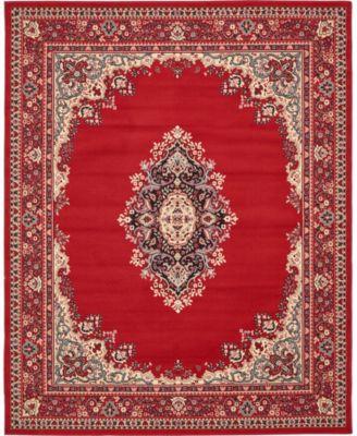 Birsu Bir1 Red 8' x 10' Area Rug