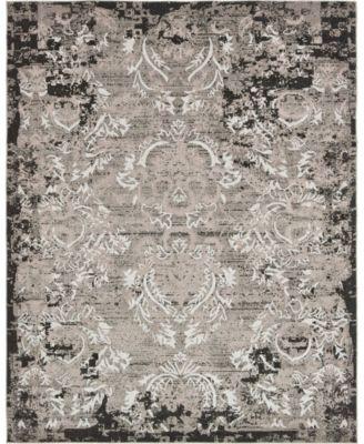 Pashio Pas4 Light Gray 8' x 10' Area Rug