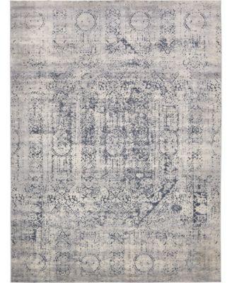 Odette Ode1 Gray 9' x 12' Area Rug