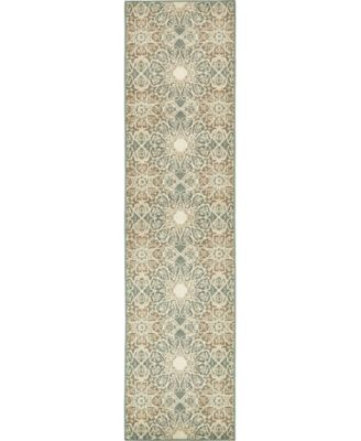"Tabert Tab3 Multi 2' 6"" x 10' Runner Area Rug"