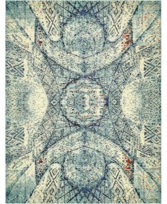 Brio Bri4 Blue 8' x 10' Area Rug