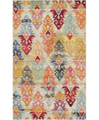 CLOSEOUT! Arcata Arc1 Navy Blue 8' x 10' Area Rug