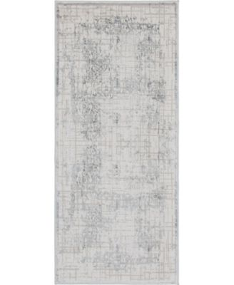 """Aitana Ait2 Gray 2' 7"""" x 6' Area Rug"""