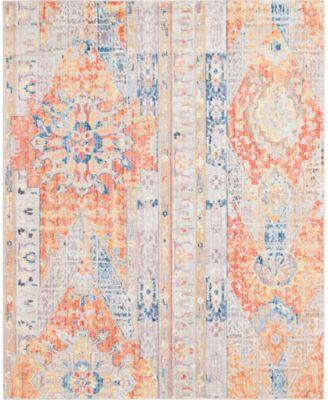 Nira Nir1 Orange 8' x 10' Area Rug