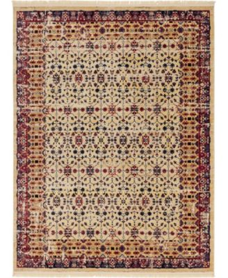 Borough Bor2 Beige 9' x 12' Area Rug