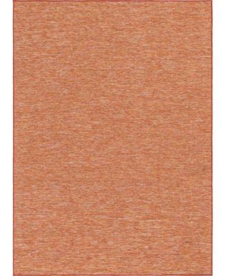 """Pashio Pas8 Terracotta 7' 5"""" x 10' Area Rug"""