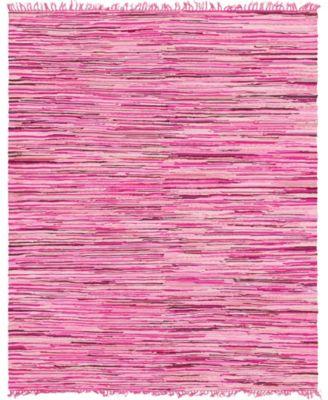 Jari Striped Jar1 Pink 8' x 10' Area Rug