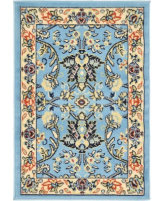 "Arnav Arn1 Light Blue 2' 2"" x 3' Area Rug"