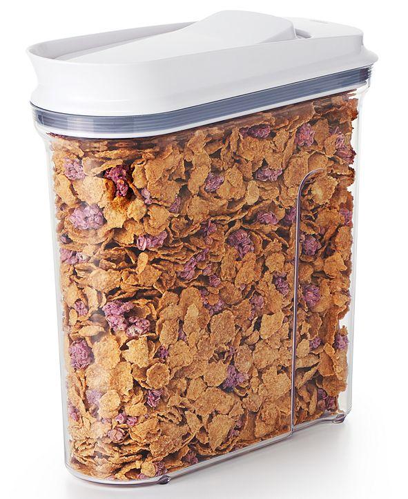 OXO Pop Medium Cereal Dispenser, 3.4-Qt.