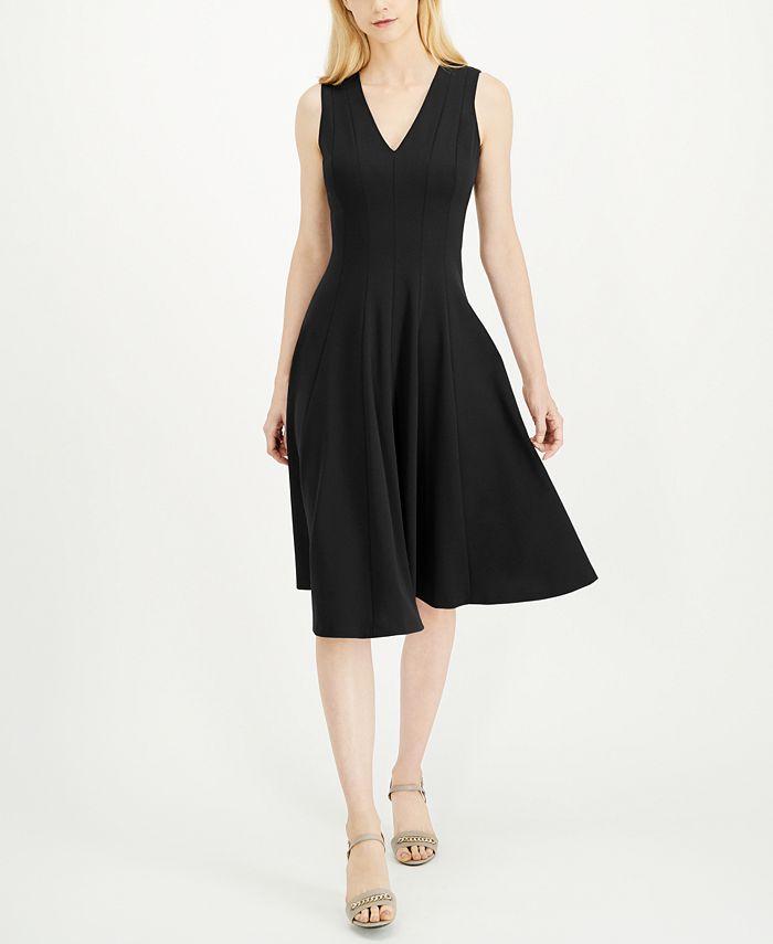 Calvin Klein - Fit & Flare Midi Dress