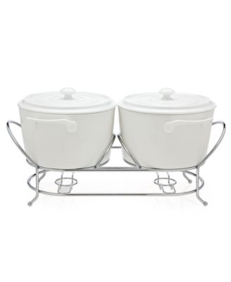 Godinger Serveware, Cucina Double Warmer
