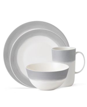 Vera Wang Wedgwood Dinnerware, Simplicity Ombre 4 Piece Place Setting