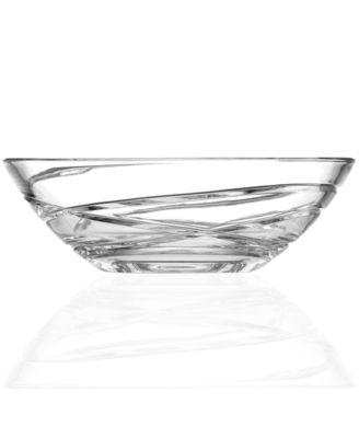 Lenox Gifts, Adorn Low Crystal Bowl 8""