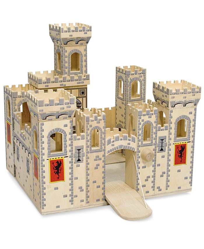 Melissa and Doug - Kids Toys, Folding Medieval Castle
