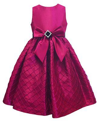 Jayne Coepland Kids Dress Girls Taffeta Bow Dress Kids