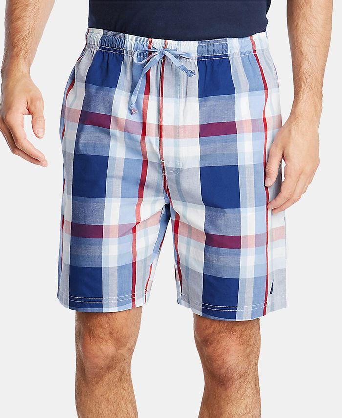 Nautica - Men's Cotton Plaid Pajama Shorts