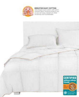 Breathewell Certified Asthma & Allergy Friendly Full/Queen Comforter