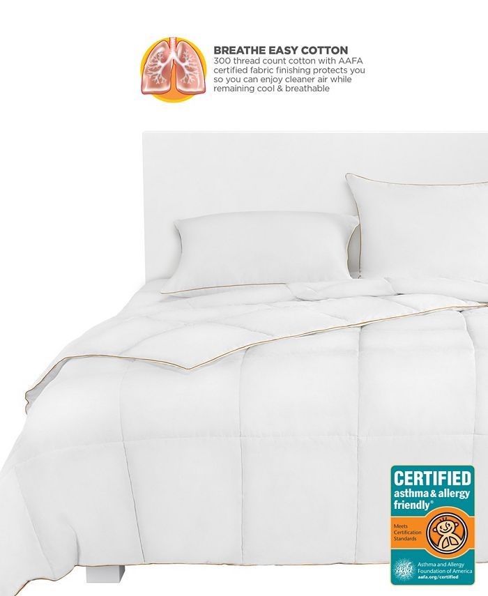 Great Sleep - BREATHEWELL CERTIFIED asthma & allergy friendly Comforter