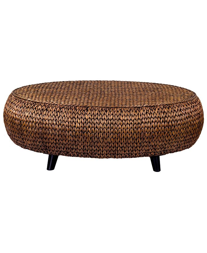 Gallerie Décor - Oval Coffee Table, Quick Ship