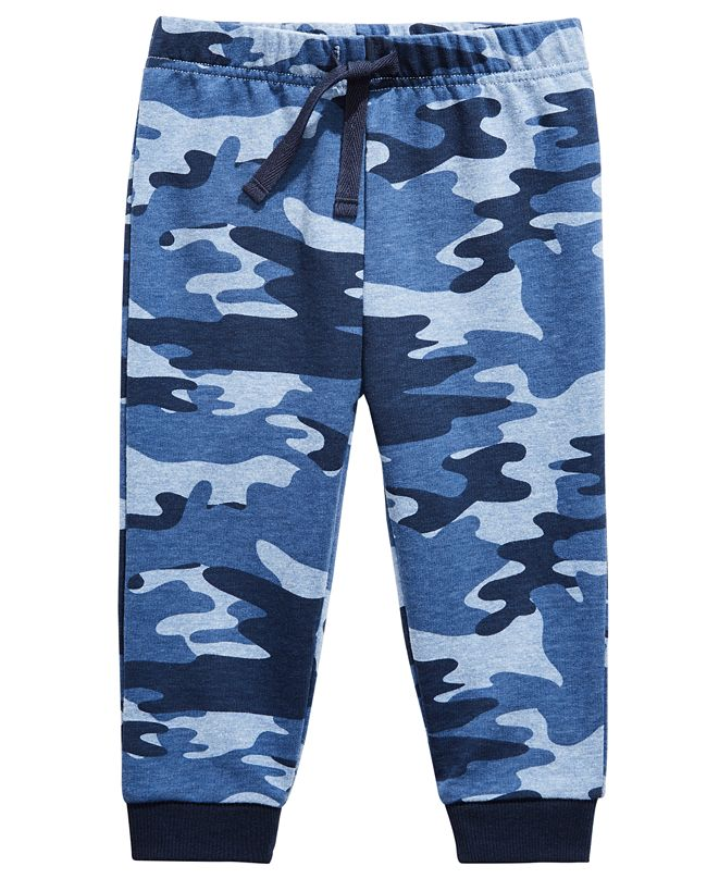 First Impressions Baby Boy Camo Jogger, Created for Macy's
