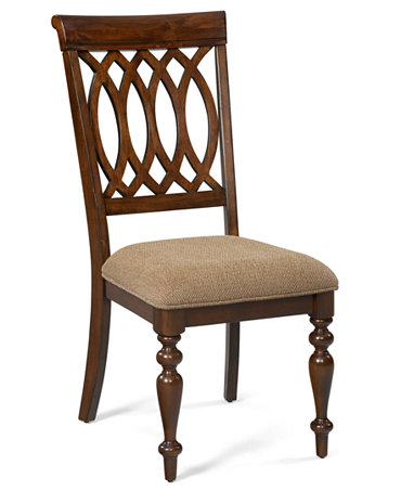 Crestwood dining room furniture side chair furniture for Macys dining room chairs