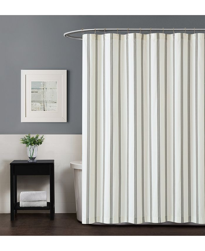 Truly Soft - Millennial Stripe Shower Curtain