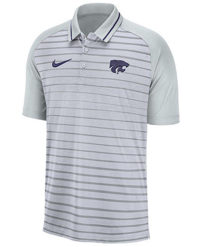 Men's Kansas State Wildcats Stripe Polo