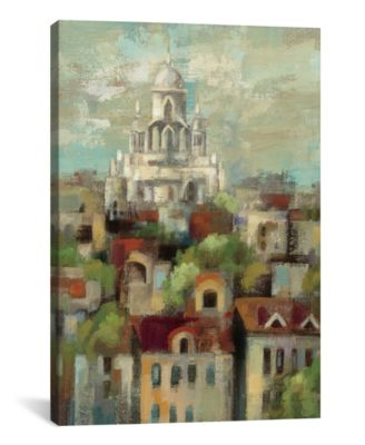 """Spring in Paris I by Silvia Vassileva Gallery-Wrapped Canvas Print - 18"""" x 12"""" x 0.75"""""""