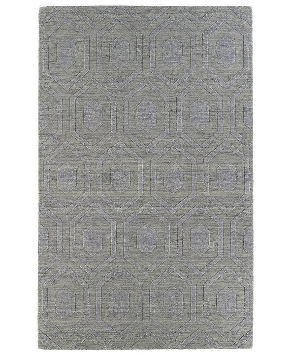 "Kaleen Imprints Modern IPM01-83 Steel 3'6"" x 5'6"" Area Rug"