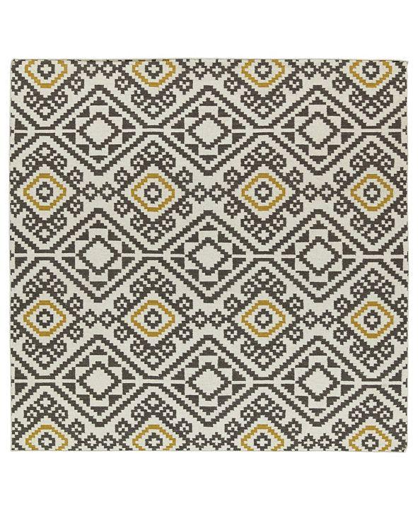 Kaleen Nomad NOM05-38 Charcoal 8' Square