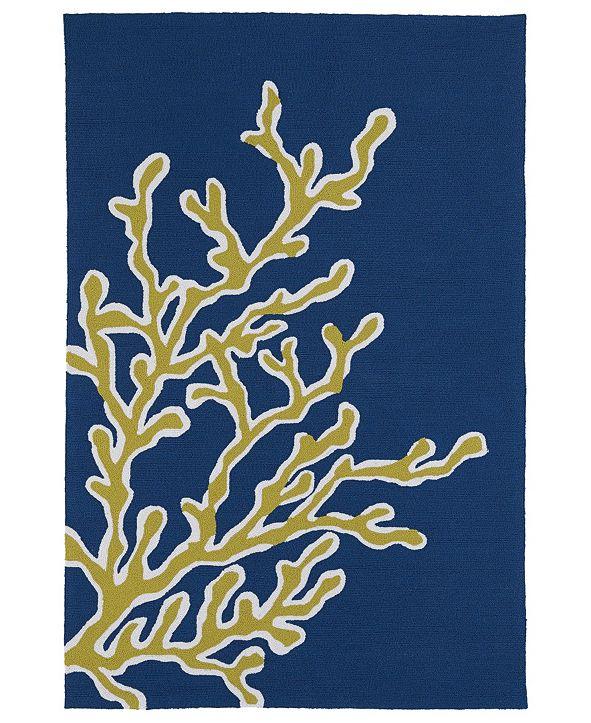 """Kaleen Matira MAT01-17 Blue 5' x 7'6"""" Area Rug"""