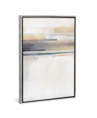 """Sandy Coast I by Alison Jerry Gallery-Wrapped Canvas Print - 40"""" x 26"""" x 0.75"""""""
