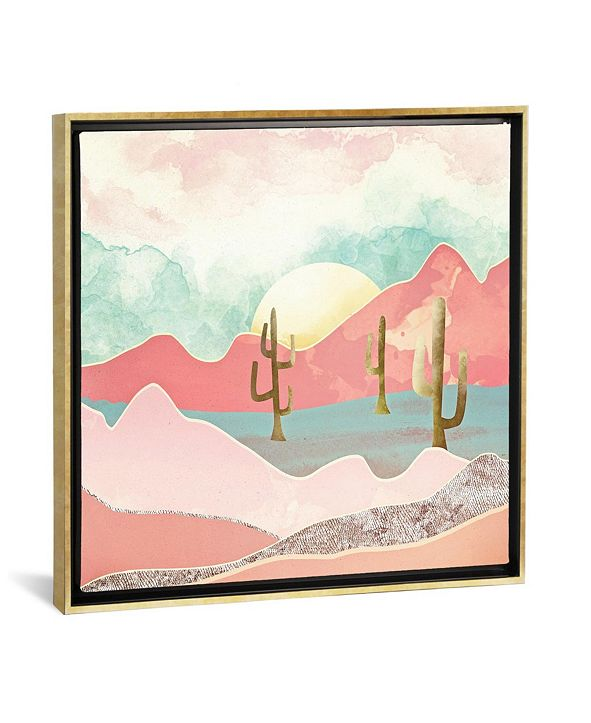 """iCanvas Desert Mountain by Spacefrog Designs Gallery-Wrapped Canvas Print - 37"""" x 37"""" x 0.75"""""""