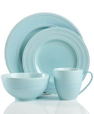 kate spade new york Dinnerware, Fair Harbor Bayberry 4 Piece Place Setting