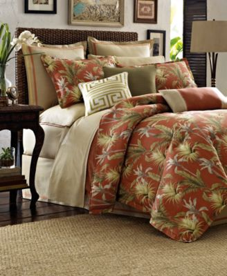 Tommy Bahama Home, Island Botanical Comforter Sets - Bedding ...