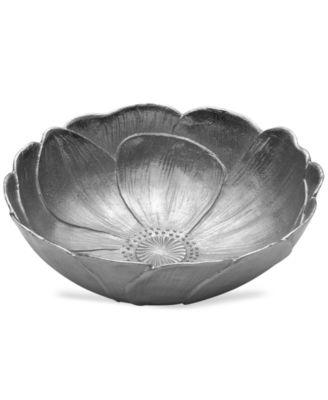 CLOSEOUT! Mikasa Serveware, Botanical Flower Round Bowl