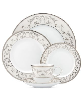 Opal Innocence Silver Rim Soup Bowl