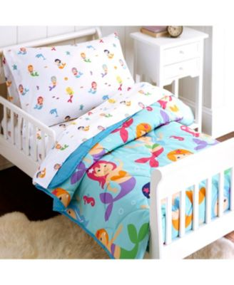 Mermaids 4 Pc Bed in a Bag - Toddler