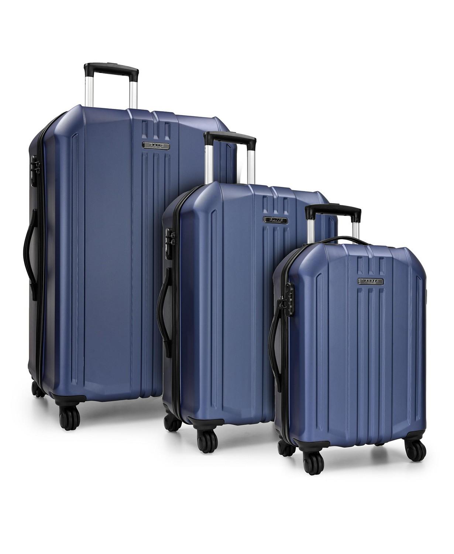 Elite Luggage Capitola 3-Piece Hardside Luggage Spinner Set