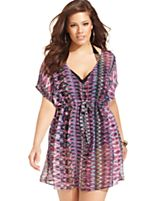 Plus-Size Swim Cover Up | ElegantPlus.com Editor's Pick