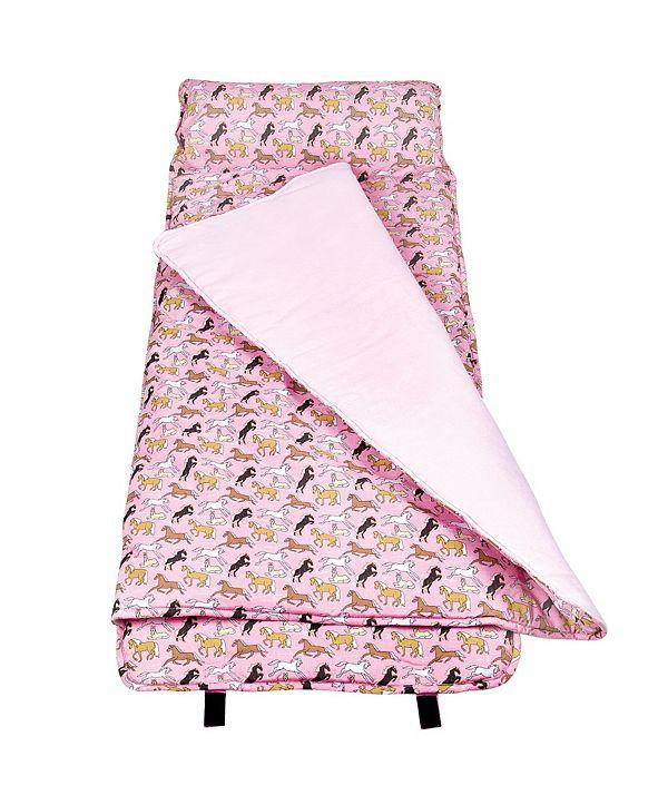 Wildkin Horses in Pink Nap Mat
